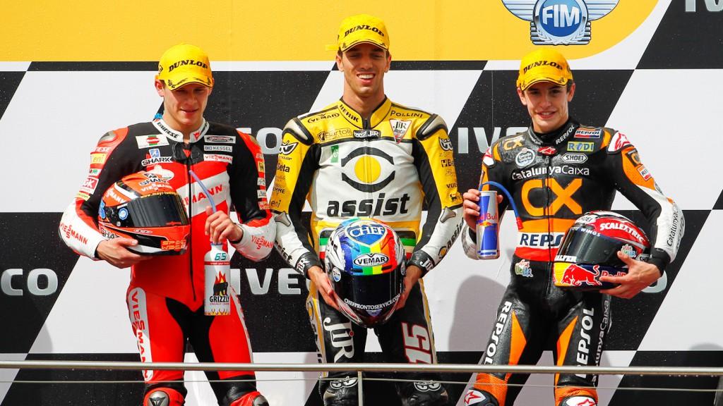 Bradl, De Angelis, Marquez, Viessmann Kiefer Racing, JiR Moto2, Team Catalunya Caixa Repsol, Australia RAC