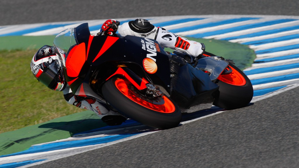 Yuki Takahashi NGM Forward Racing, Jerez MotoGP Test
