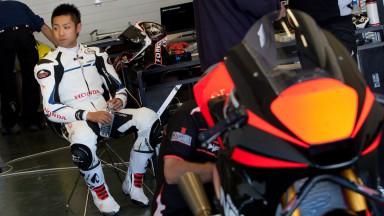 Yuki Takahashi NGM Forward Racing, Jerez MotoGP Test