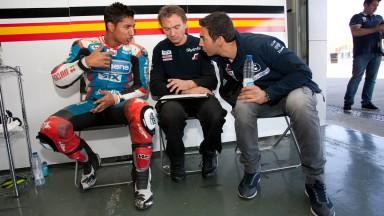 Yonni Hernandez, BQR, Jerez Test