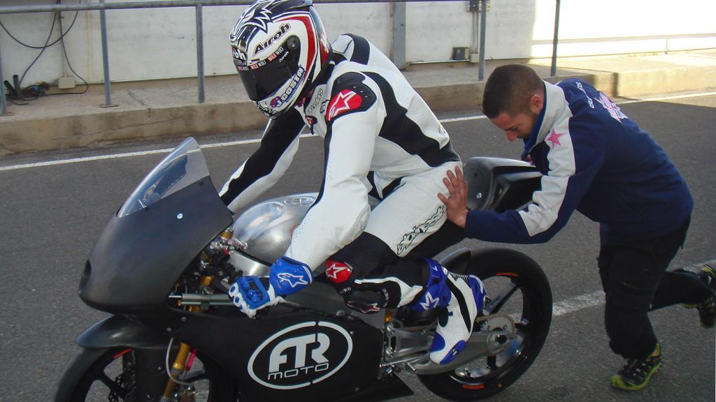 Maverick Viñales, BQR Moto3, Almeria Circuit