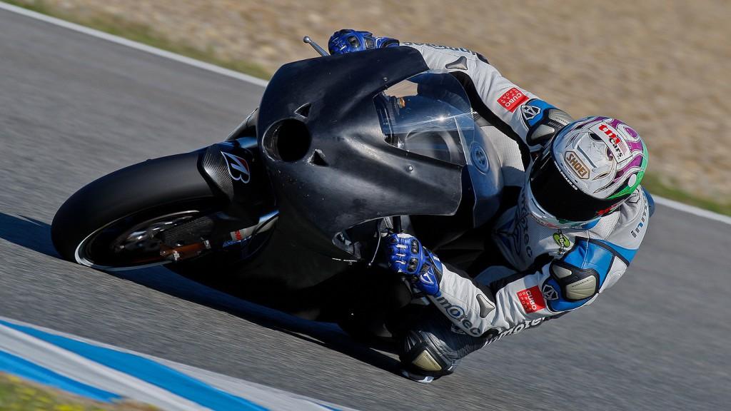 Ivan Silva, BQR, Jerez MotoGP Test