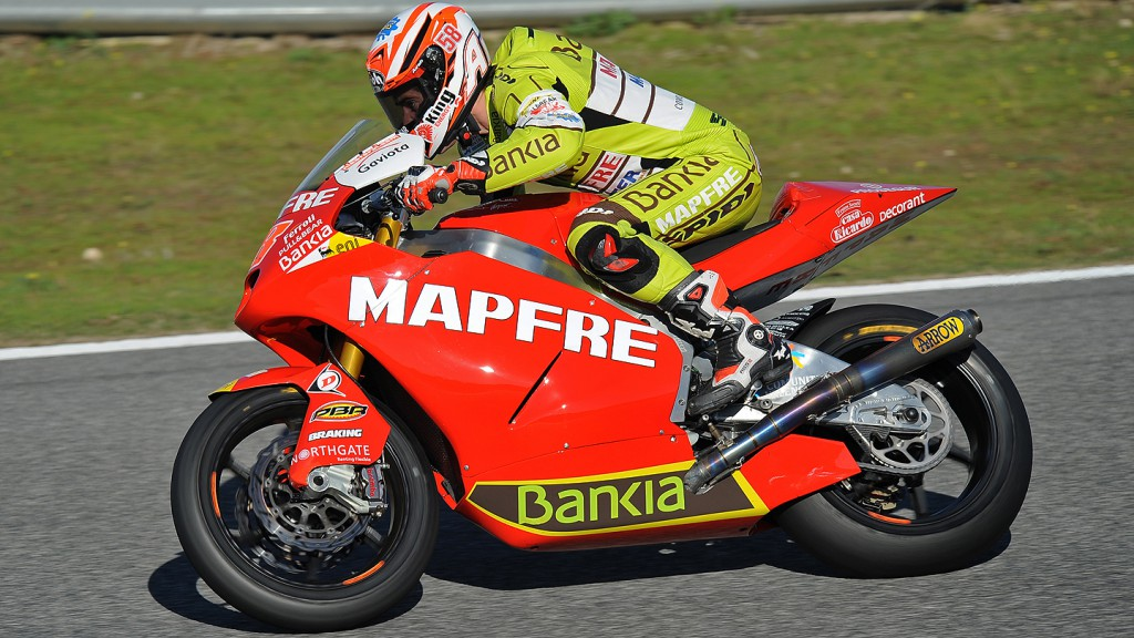 Nico Terol, Mapfre Aspar Team Moto2, Jerez Moto2 Test