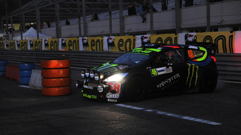 Valentino Rossi, Monza Rally Show