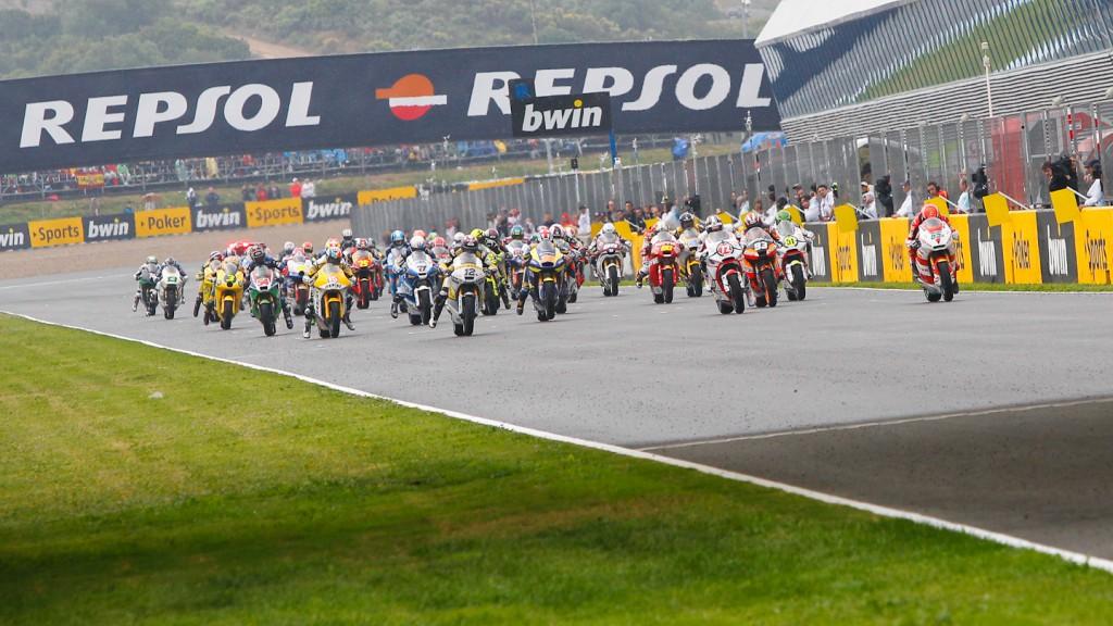Moto2, Jerez RAC
