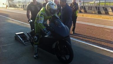 Hector Faubel, Aspar Team, Valencia Moto3 Test