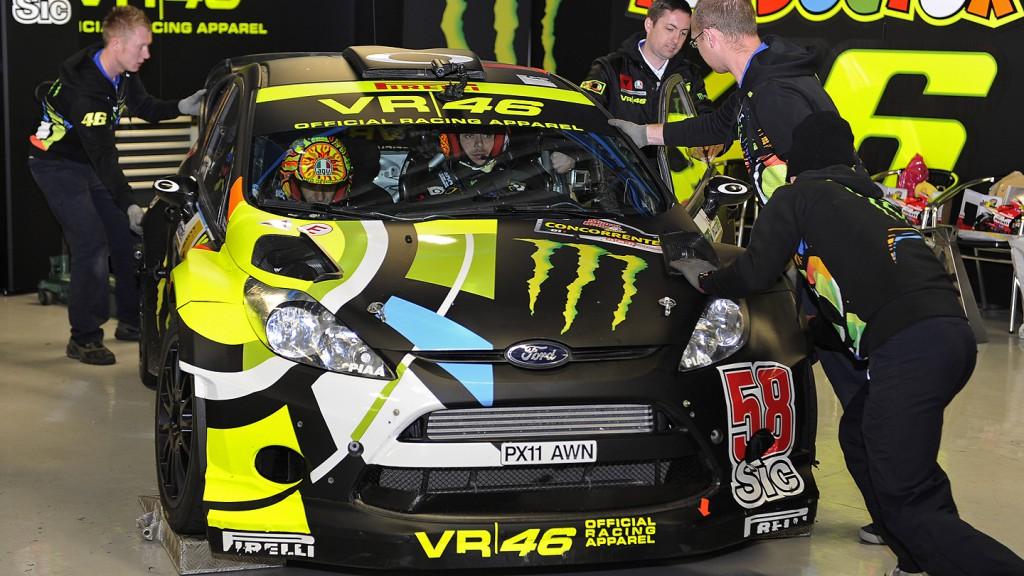 Valentino Rossi, Monza Rally Show box