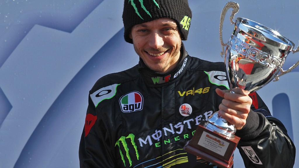 Valentino Rossi, Monza Rally Show podium
