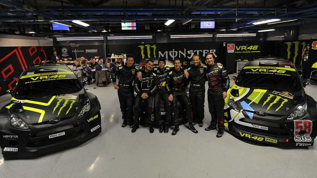 Valentino Rossi & Team, Monza Rally Show