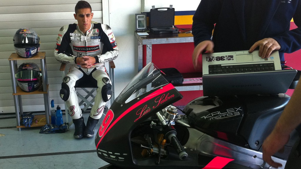 Luis Salom, RW Racing GP, Valencia Moto3 Test