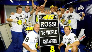 Valentino Rossi, 2008 MotoGP World Champion
