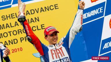 Jorge Lorenzo - 2010 MotoGP World Champion
