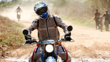 Alvaro Bautista, Riders For Health, Zambia