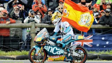 Phillip Island 2009 - Resumen de la carrera de 125cc