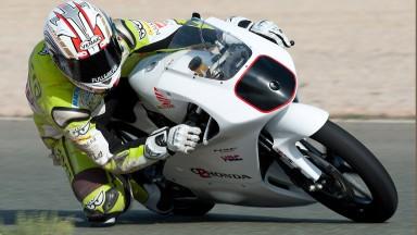 Adrían Martín. Honda Moto3. Almeria Circuit