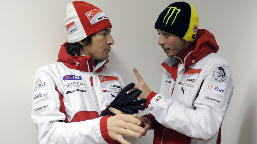 Nicky Hayden, Valentino Rossi - Wrooom 2012