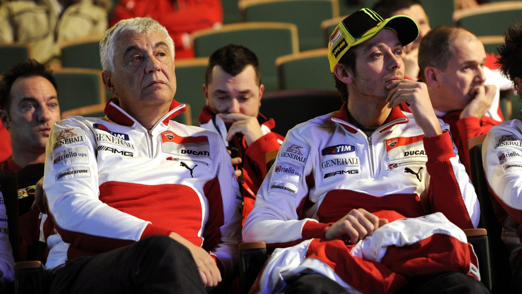 Gabriele del Torchio, Valentino Rossi - Wrooom 2012