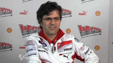 Preziosi on 2012 Ducati development