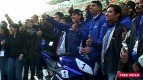 Lorenzo visits the Buddh International Circuit & New Delhi Auto Expo