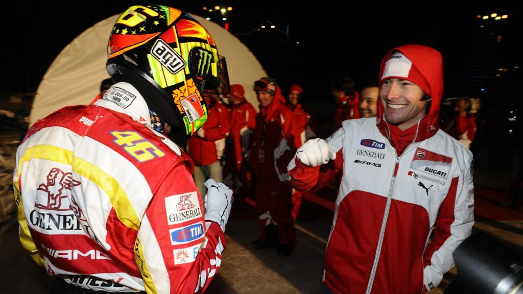 Valentino Rossi, Nicky Hayden - Wrooom, Madonna di Campiglio