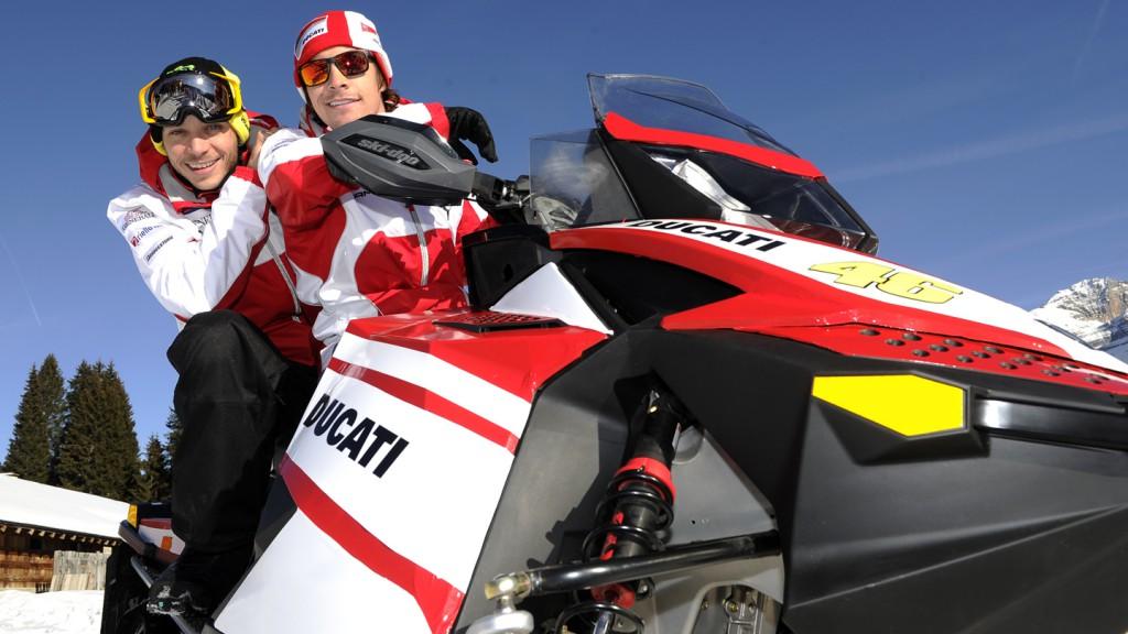 Valentino Rossi, Nicky Hayden - Wrooom 2012