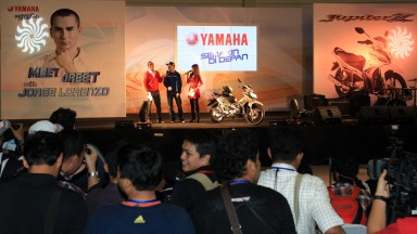 Jorge Lorenzo, Yamaha Factory Racing, Indonesia