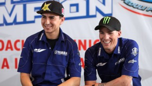 yamaha factory riders visits indonesia