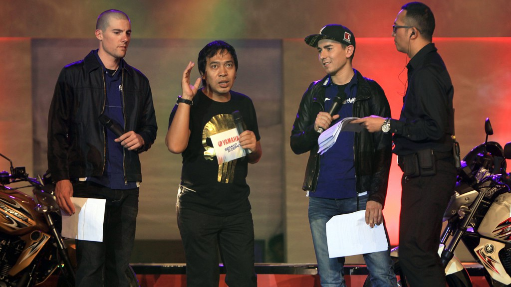 Jorge Lorenzo, Ben Spies, Yamaha Factory Racing, Indonesia