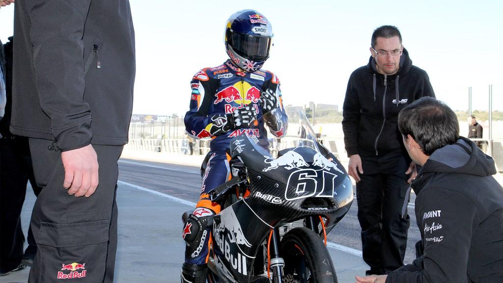 Arthur Sissis, Red Bull KTM Ajo, Valencia Test