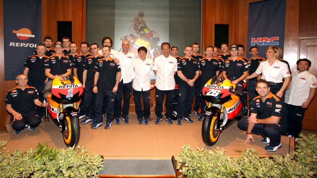 Repsol Honda Team, Presentation, Malaysia