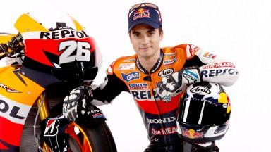 Dani Pedrosa, Repsol Honda Team, Presentation
