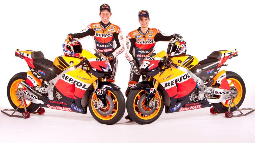 Casey Stoner, Dani Pedrosa, Repsol Honda Team, Presentation, Malaysia