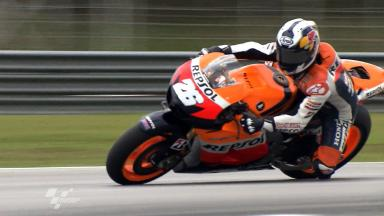 Sepang MotoGP Test 1 -Dani Pedrosa in action