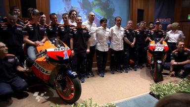 Repsol Honda shows off 2012 line-up