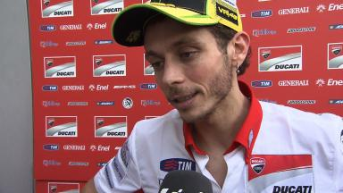 2012 MotoGP - Sepang Test 1 - Day 1 Interview - Valentino Rossi