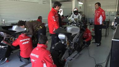 Valencia private test for CRT and Moto3