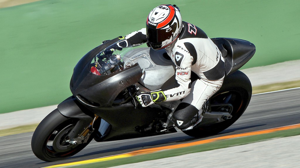 Randy de Puniet, Aspar Team MotoGP, Valencia Test