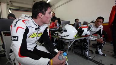 Aleix Espargaro, Randy de Puniet, Aspar Team MotoGP, Valencia Test