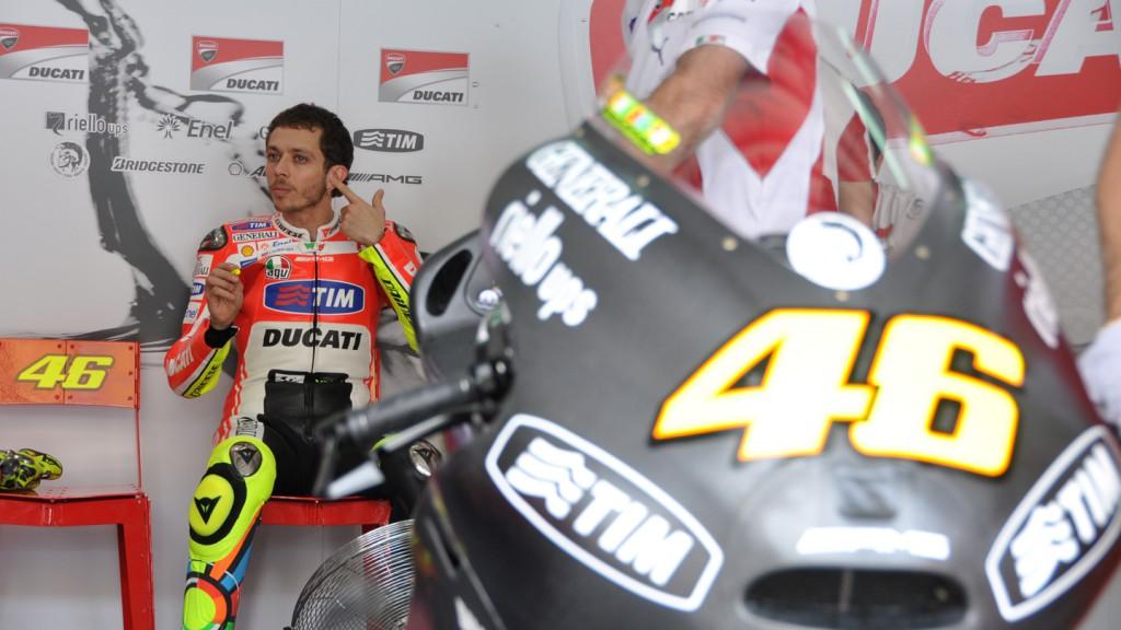 Valentino Rossi, Ducati Team - Sepang Test