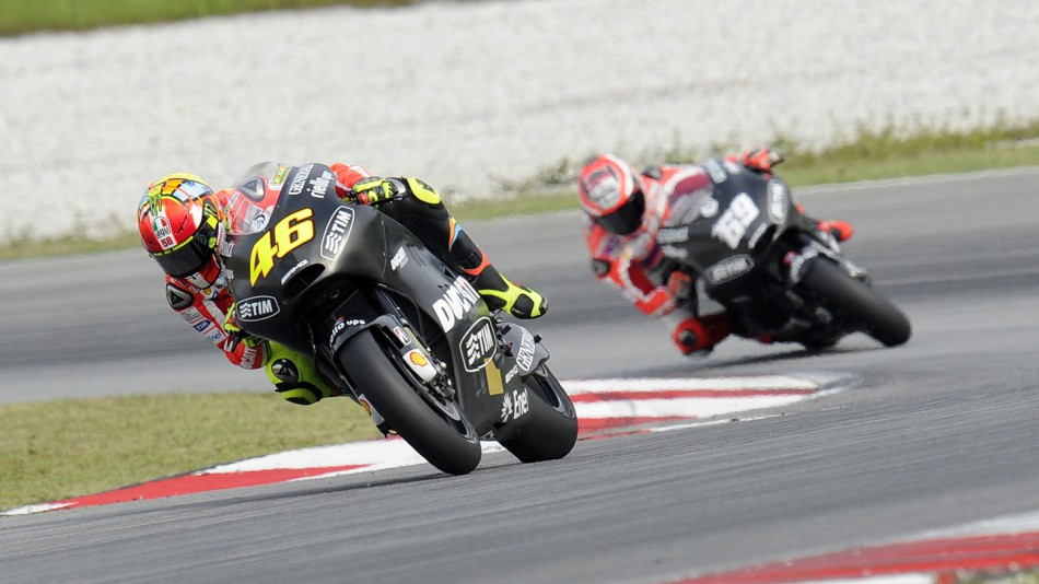 Valentino Rossi, Ducati Team, Sepang Test