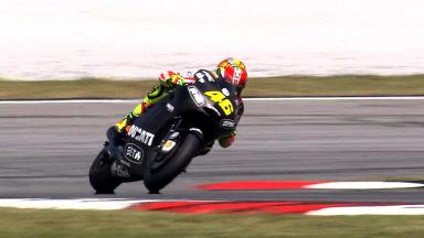 Sepang MotoGP Test 1 - Day 2 - Valentino Rossi in action