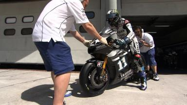 Sepang MotoGP Test 1 - Day 2 - Ben Spies in action