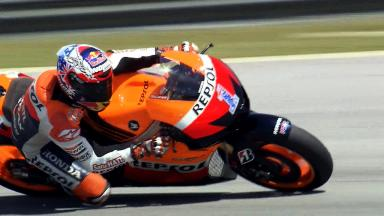 Sepang MotoGP Test 1 - Day 2 - Casey Stoner in action