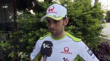 2012 MotoGP - Sepang Test 1 - Day 2 - Interview - Héctor Barberá