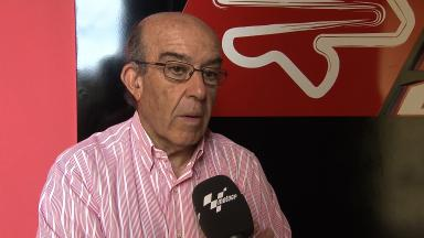2012 MotoGP - Sepang Test 1 - Day 2 - Interview - Carmelo Ezpeleta