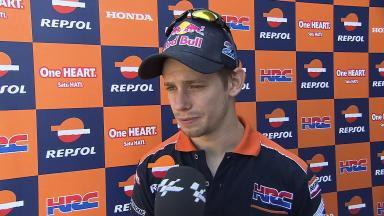 2012 MotoGP - Sepang Test 1 - Day 2 Interview - Casey Stoner