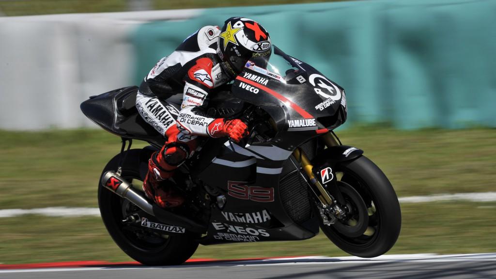 Jorge Lorenzo, Yamaha Factory Racing - Sepang Test