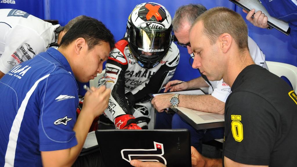 Jorge Lorenzo, Yamaha Factory Racing, Sepang Test