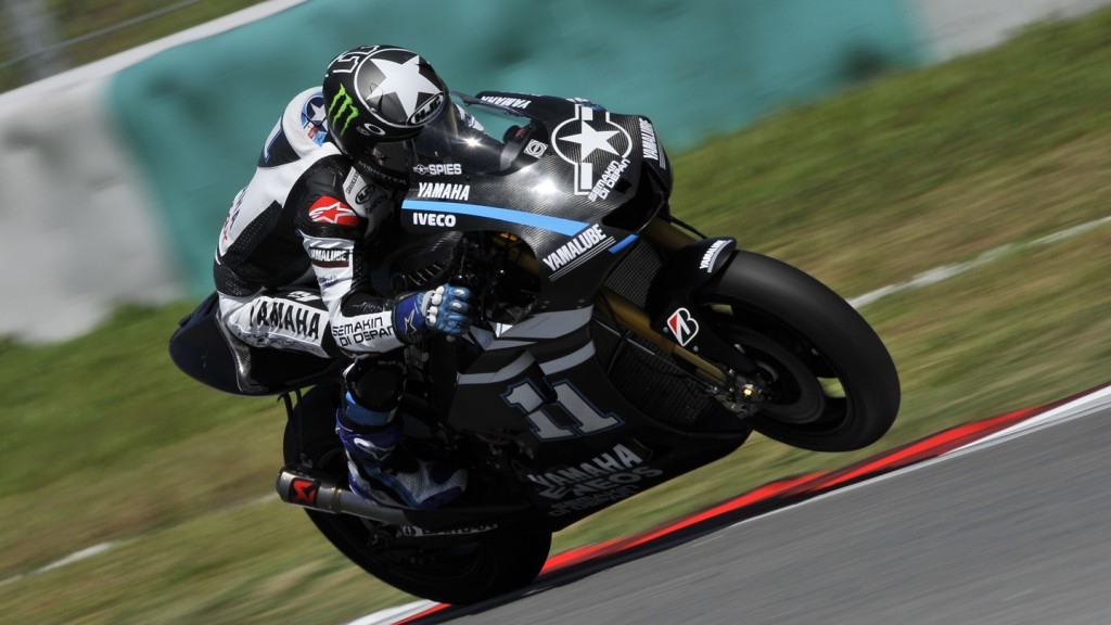 Ben Spies, Yamaha Factory Racing - Sepang Test