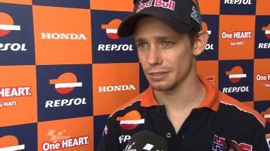 2012 MotoGP - Sepang Test 1 - Day 3 - Interview - Casey Stoner